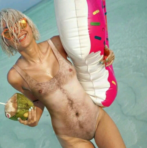 Belovedshirtcom Swim Hairy Chest One Piece Size Medium Poshmark